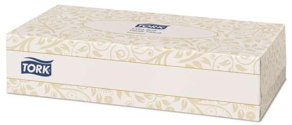 Kapesníčky papírové TORK - v krabičce, 100 ks