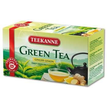 Zelený čaj Teekanne - zázvor a citron, 20 x 1,75 g