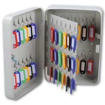 Schránka na klíče Office Depot - 60 klíčů, šedá