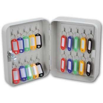 Schránka na klíče Office Depot - 20 klíčů, šedá