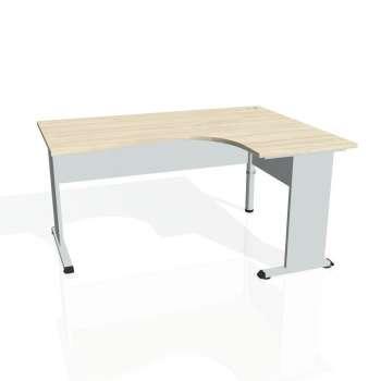 Psací stůl Hobis PROXY PE 2005 levý, akát/šedá