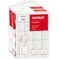 Skládané papírové ručníky Katrin - 2vrstvé, bílý recykl, 20x200 ks