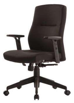 Kancelářská židle Realspace Stanley synchronní - bez područek, černá