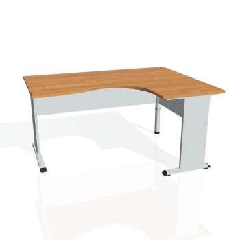 Psací stůl Hobis PROXY PE 2005 levý, olše/šedá