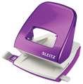 Děrovačka Leitz WOW NeXXt 5008  - 30 listů, kov, purpurová