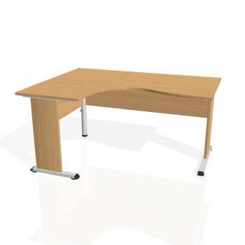 Psací stůl Hobis PROXY PE 2005 pravý, buk/buk