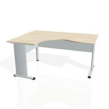 Psací stůl Hobis PROXY PE 2005 pravý, akát/šedá
