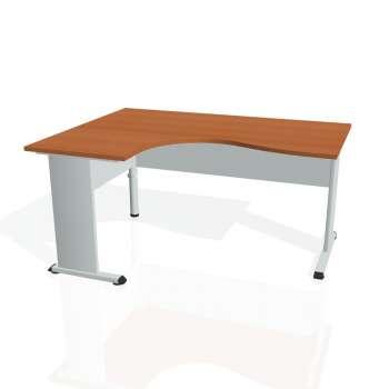 Psací stůl Hobis PROXY PE 2005 pravý, třešeň/šedá