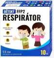 Dětský respirátor CRDLIGHT FFP2 NR - růžový