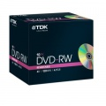 DVD-RW TDK- slim box, 10 ks