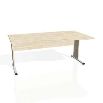 Psací stůl Hobis PROXY PE 1000 levý, akát/akát