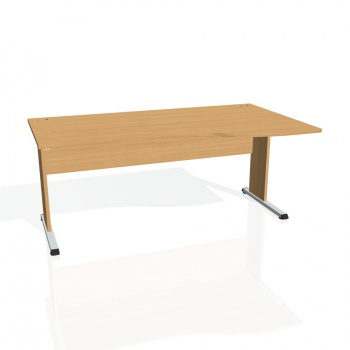 Psací stůl Hobis PROXY PE 1000 levý, buk/buk