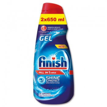 Gel multifunkční do myček - Finish, 1,3 l
