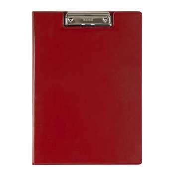 Zavírací desky Office Depot s klipem - A4, červená