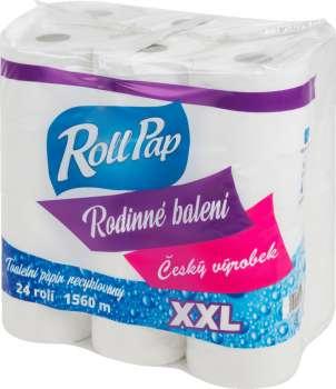Toaletní papír XXL - dvouvrstvý, průměr 13 cm, 24 rolí