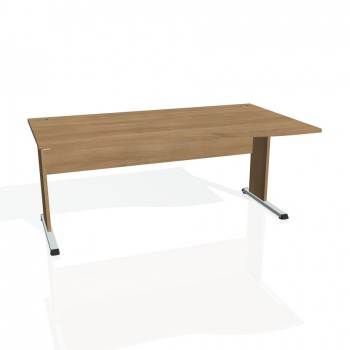 Psací stůl Hobis PROXY PE 1000 levý, višeň/višeň