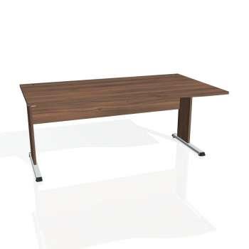 Psací stůl Hobis PROXY PE 1000 levý, ořech/ořech