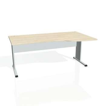 Psací stůl Hobis PROXY PE 1000 levý, akát/šedá
