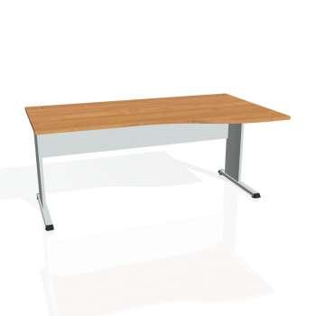 Psací stůl Hobis PROXY PE 1000 levý, olše/šedá