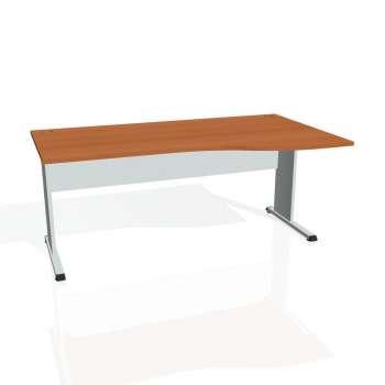 Psací stůl Hobis PROXY PE 1000 levý, třešeň/šedá