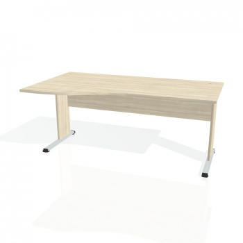 Psací stůl Hobis PROXY PE 1000 pravý, akát/akát