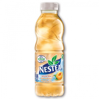 Čaj ledový Nestea - bílý s meruňkou, 12 x 0,5 l