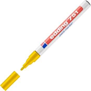 Popisovač lakový Edding 751 - žlutá