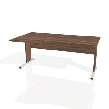 Psací stůl Hobis PROXY PE 1000 pravý, ořech/ořech