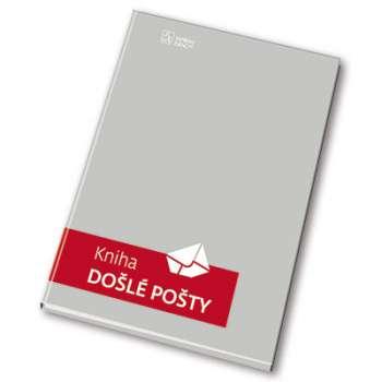 Kniha pošty s tuhými deskami