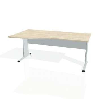 Psací stůl Hobis PROXY PE 1000 pravý, akát/šedá