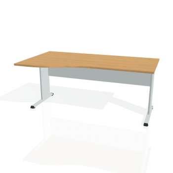 Psací stůl Hobis PROXY PE 1000 pravý, buk/šedá