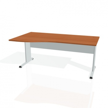 Psací stůl Hobis PROXY PE 1000 pravý, třešeň/šedá