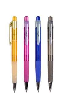 Kuličkové pero Spoko - modrá náplň, 0,5 mm
