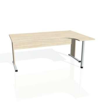 Psací stůl Hobis PROXY PE 1800 levý, akát/akát