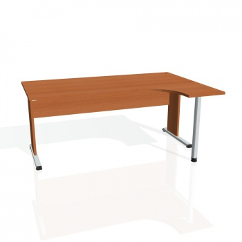Psací stůl Hobis PROXY PE 1800 levý, třešeň/třešeň