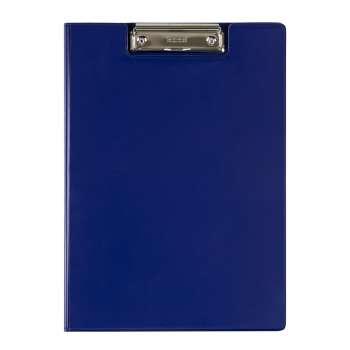 Zavírací desky Office Depot s klipem - A4, modré