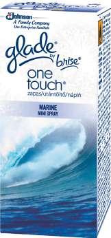 Osvěžovač vzduchu - Glade One Touch MiniSpray, náplň - Marine