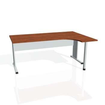 Psací stůl Hobis PROXY PE 1800 levý, calvados/šedá