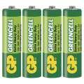 Baterie GP Greencell - 1,5V, LR6, typ AA, 4 ks