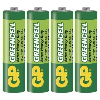 Baterie GP Greencell R6, typ AA, 4 ks