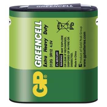 Baterie GP Greencell 4,5V (plochá baterie), 1 ks