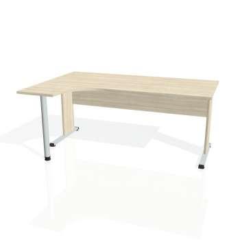 Psací stůl Hobis PROXY PE 1800 pravý, akát/akát