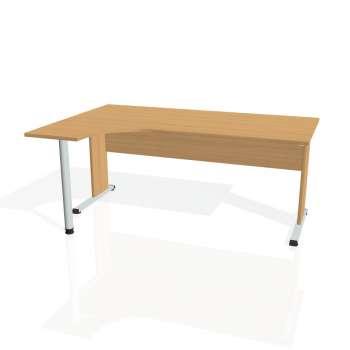 Psací stůl Hobis PROXY PE 1800 pravý, buk/buk