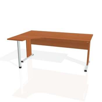 Psací stůl Hobis PROXY PE 1800 pravý, třešeň/třešeň