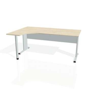 Psací stůl Hobis PROXY PE 1800 pravý, akát/šedá
