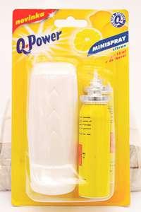 Osvěžovač vzduchu - Minispray Q-Power, citron + 2 náplně
