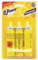 Osvěžovač vzduchu - Minispray Q-Power, citron, náplň - 3 ks