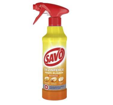 Přípravek proti plísním - Savo koupelna, 500 ml
