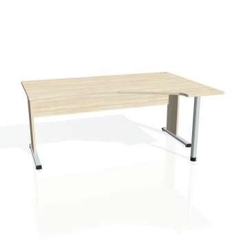 Psací stůl Hobis PROXY PEV 1800 levý, akát/akát
