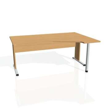 Psací stůl Hobis PROXY PEV 1800 levý, buk/buk